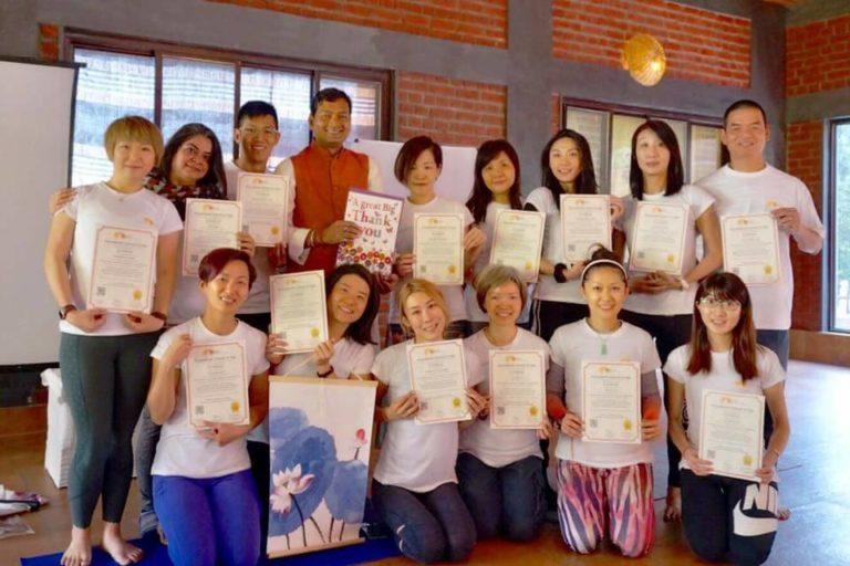 7 days intensive Yoga TTC Module 1 Himalayas